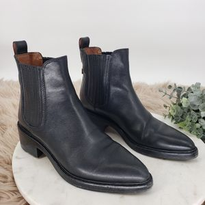 Coach Bowery Chelsea Bootie in Black